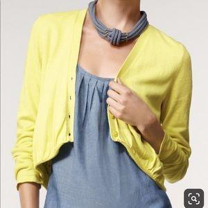 Women's Cabi yellow sweater small